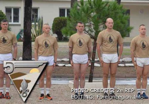 2e REP: 5th Company created - 5e Compagnie cree