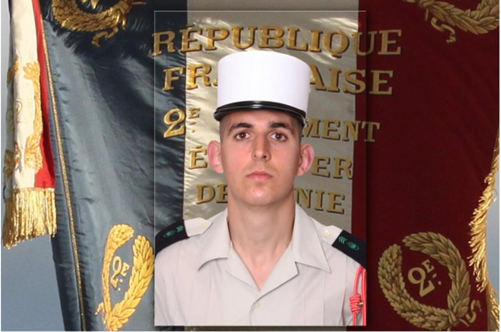 The sixth killed legionnaire of 2e REG - David Hetenyi