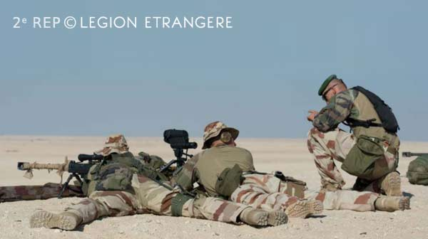 2e REP - EAU - UNITED ARAB EMIRATES 2015 - Foreign legion