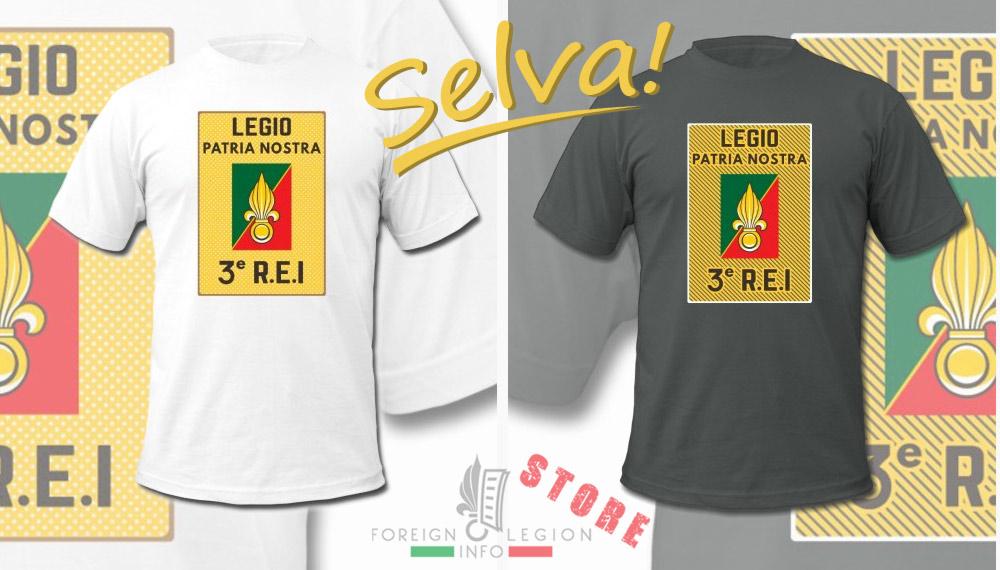 3e REI - 3 REI - Foreign Legion Etrangere - T-shirt