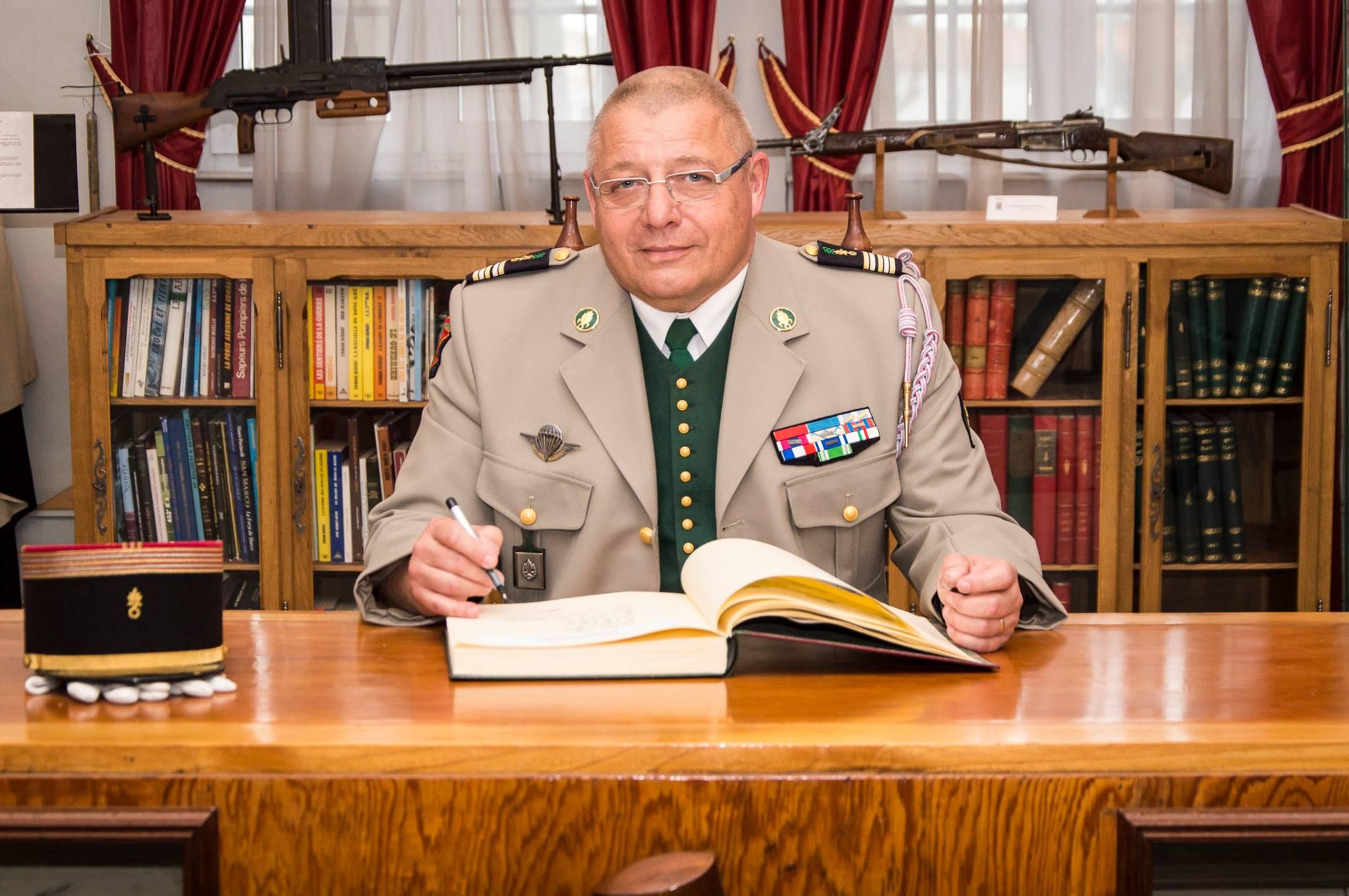 2e REI - 2017 - Foreign Legion Etrangere - Lt Colonel Eric Hildebert