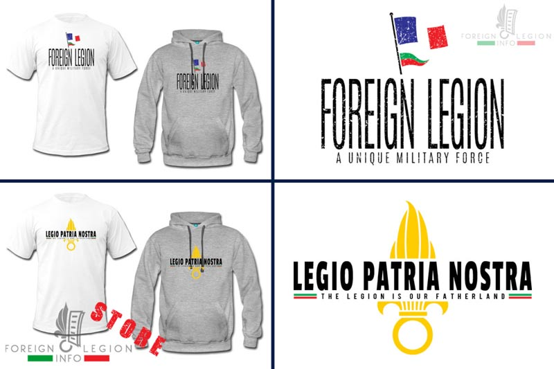 Foreign Legion - Patria Nostra - T-shirts