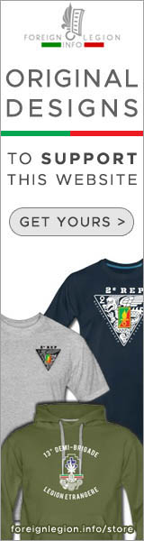 Our online store - French Foreign Legion t-shirts - Legion Etrangere tee-shirt - Fremdenlegion Shirt
