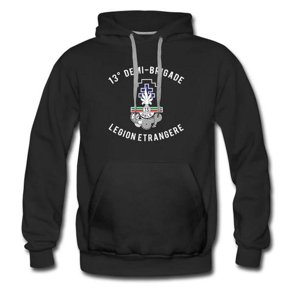 13e DBLE - 13 DBLE - Badge - Insignia - Hoodie - Foreign Legion Etrangere - Half Brigade - Demi Brigade - Phalange magnifique - More majorum