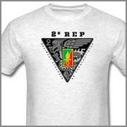 2 REP - 2e REP - Foreign Legion Etrangere - Tee - T-shirts