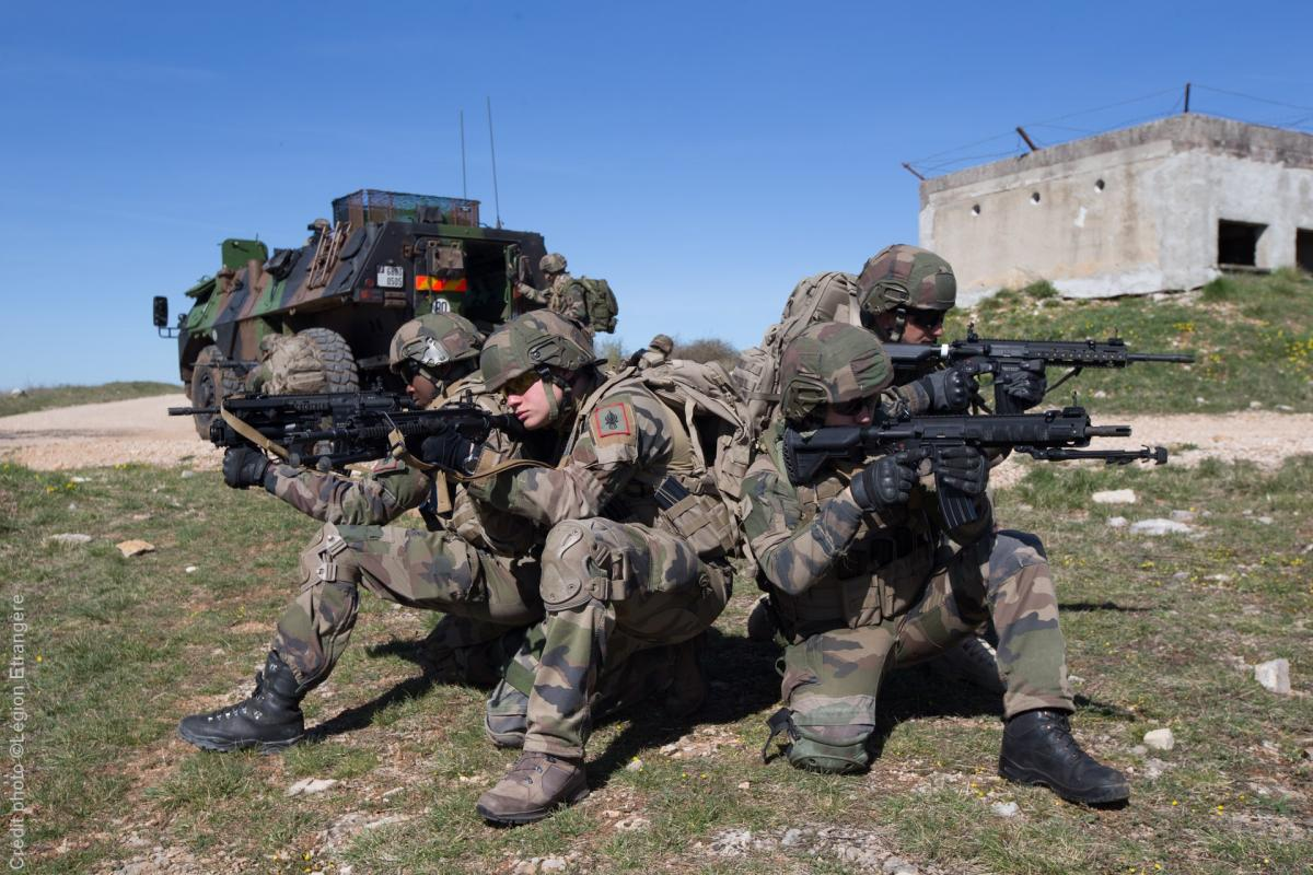 13e DBLE - 13 DBLE - Legion - Heckler & Koch HK 416 F - HK416F - 2017