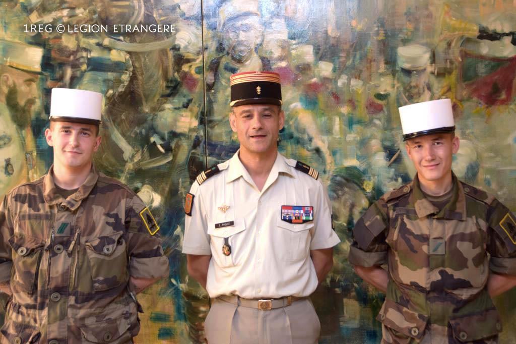 Foreign Legion - Uniform T3 + Uniform T4 - 2016