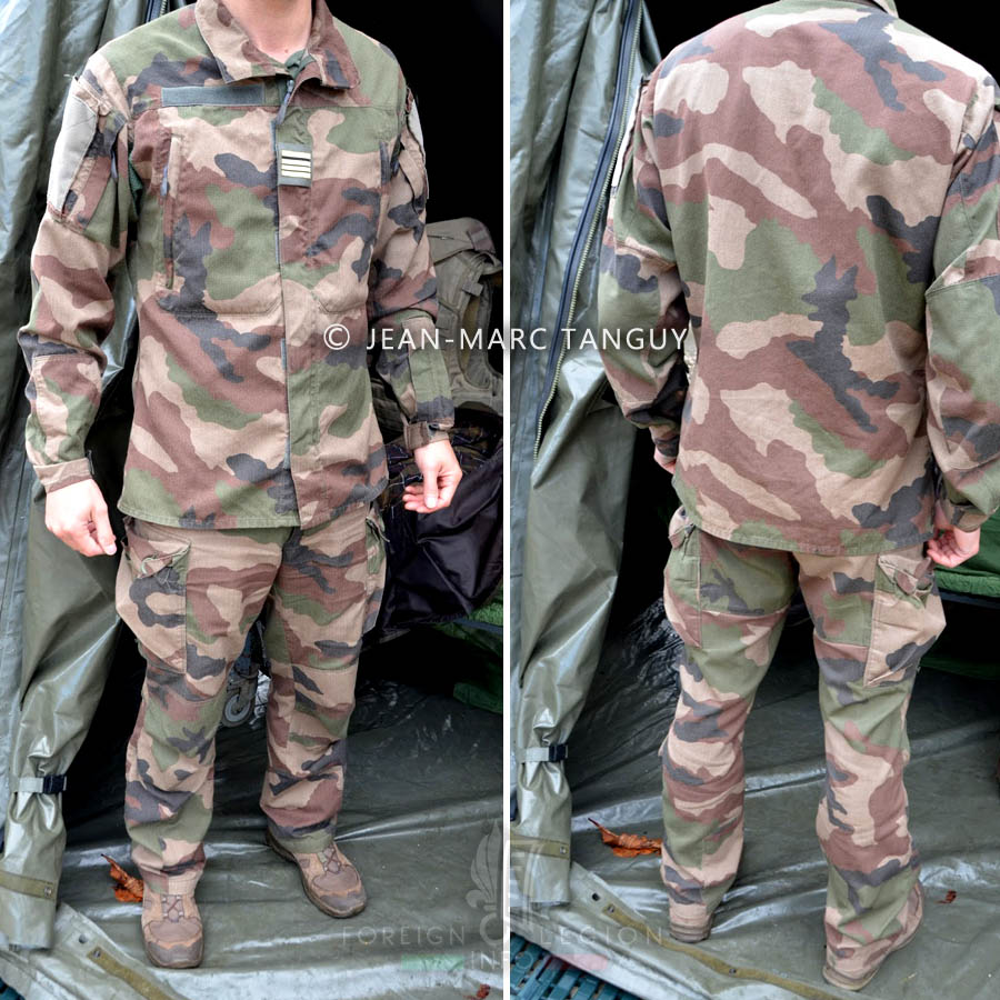 New French combat uniform from 2018 | French Foreign Legion