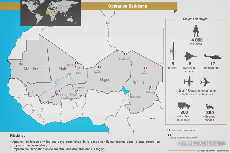 Foreign Legion: Operation Barkhane 2018