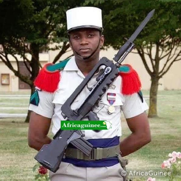 3e REI: Caporal-chef Ibrahima Camara