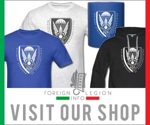 Foreign Legion Info Shop - Banner