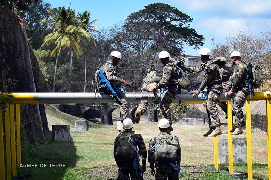 Foreign Legion - 13e DBLE - 13 DBLE - June 2020 - CNEF Training Center - Martinique