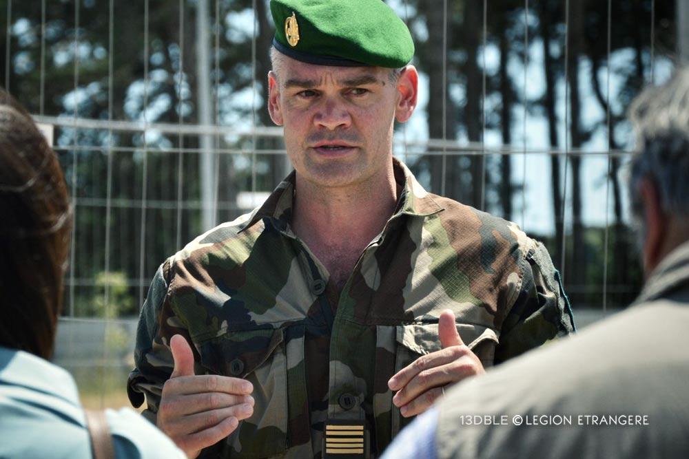 Colonel Pierre-Henri Aubry - 13e DBLE