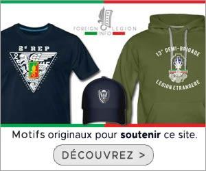Legion Etrangere Info boutique - bannière