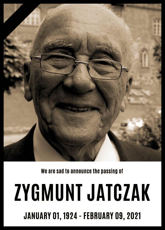 Foreign Legion - AAALEP: Zygmunt Jatczak has passed away - 2021