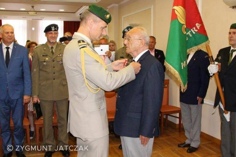 Zygmunt Jatczak - Colonel Delawarde - Legion d'Honneur