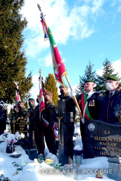 Foreign Legion - Zygmunt Jatczak - Funeral