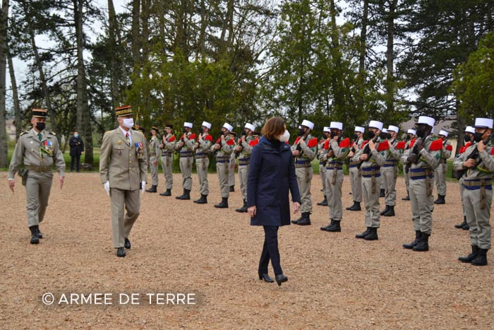 Foreign Legion: 2021 Camerone Day - DLEM - Mayotte