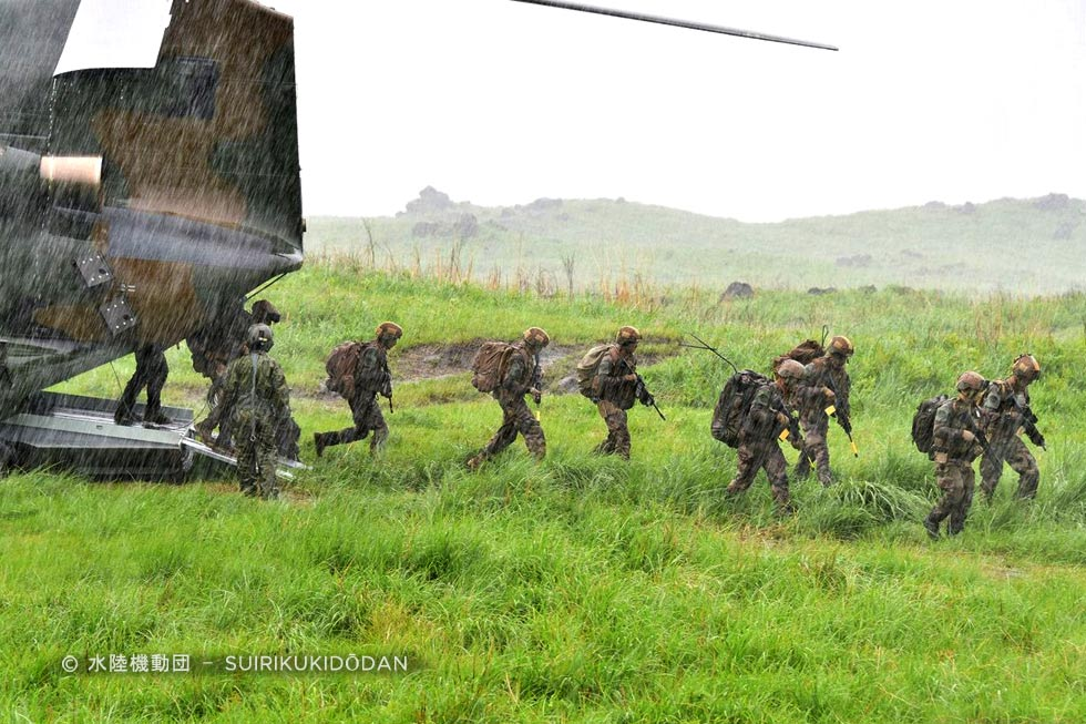 Foreign Legion: Exercise Arc-21 in Japan