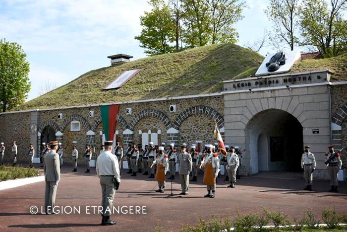 Foreign Legion: 2021 Camerone Day - GRLE - Paris - Fort de Nogent