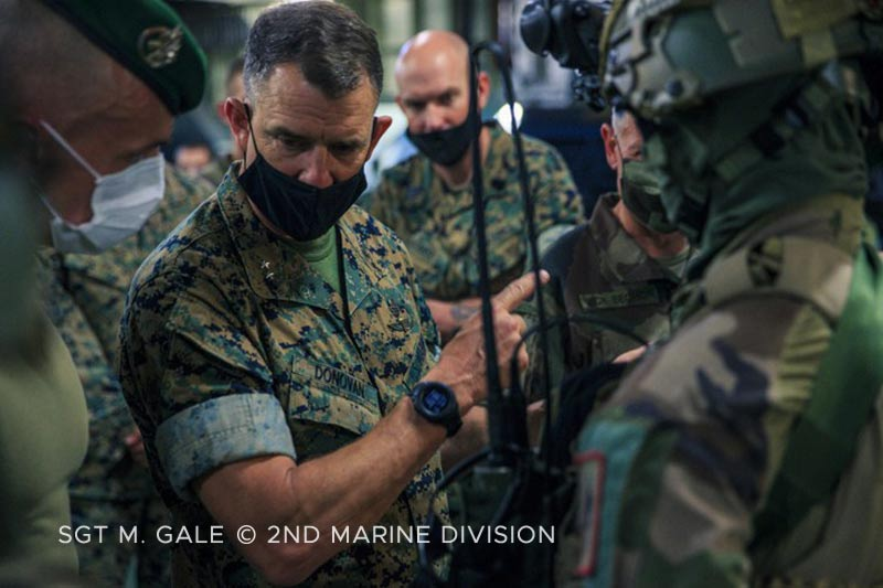13e DBLE: Exercise with VBMR Griffons - General Donovan