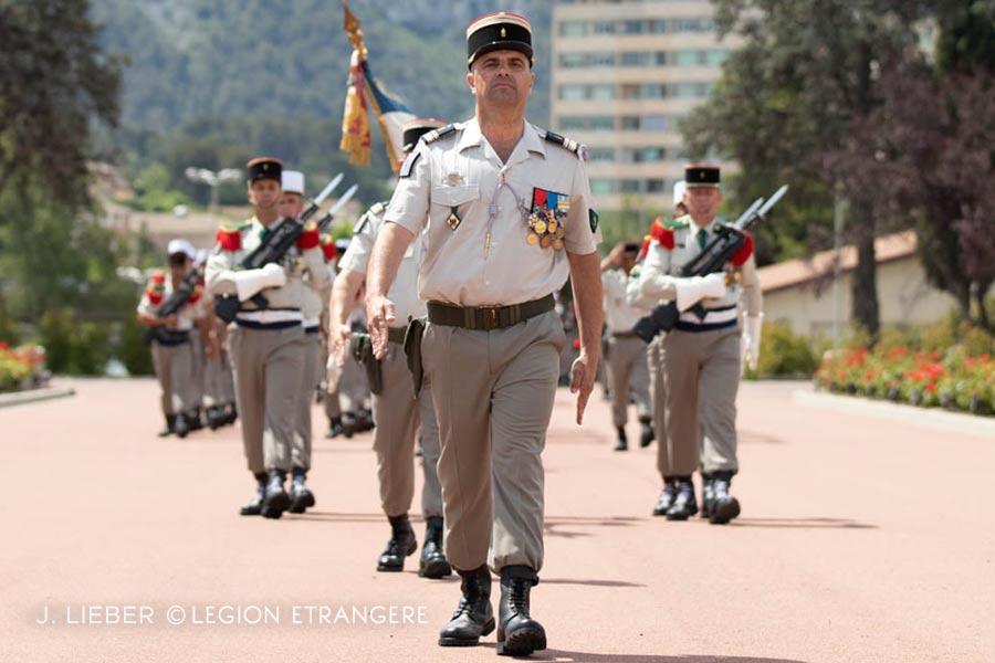 1st Foreign Regiment: 2021 Change of Command - Lieutenant Colonel Arnaud de Peretti