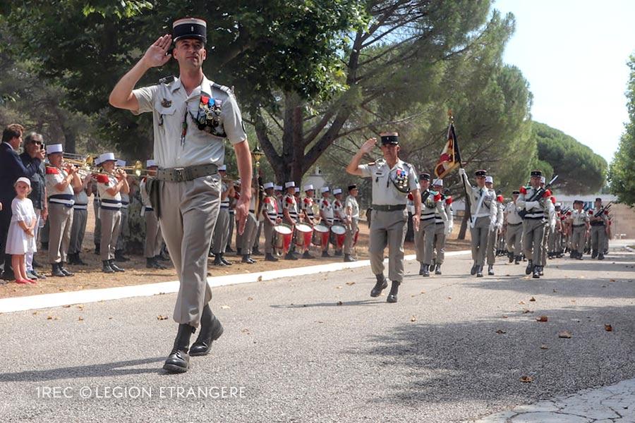 1st Foreign Cavalry Regiment: 2021 Change of Command - Colonel Henri Leinekugel Le Cocq