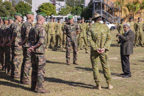2e REP: 5th Company train in Australia - Foreign Legion