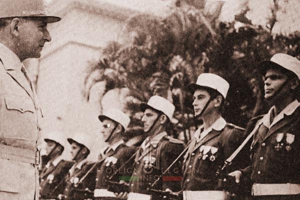 General de Lattre - 2e BEP - 2 BEP - Foreign Legion Etrangere - Indochina - 1951