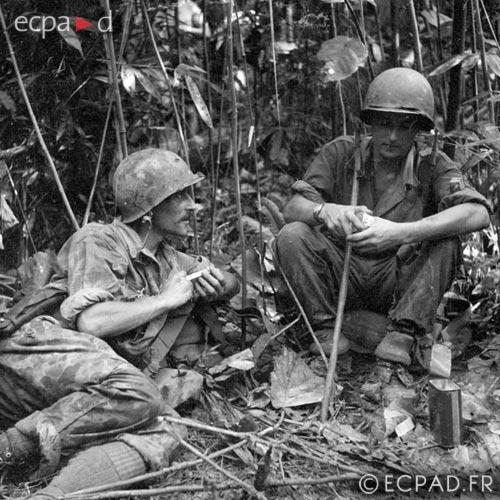 Sergeants - 2e BEP - 2 BEP - Foreign Legion Etrangere - Nghia Lo - Indochina - 1951