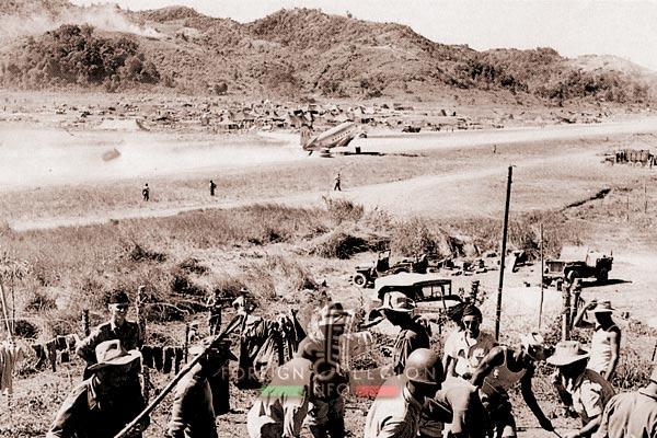 Na San - French camp - Indochina - 1952