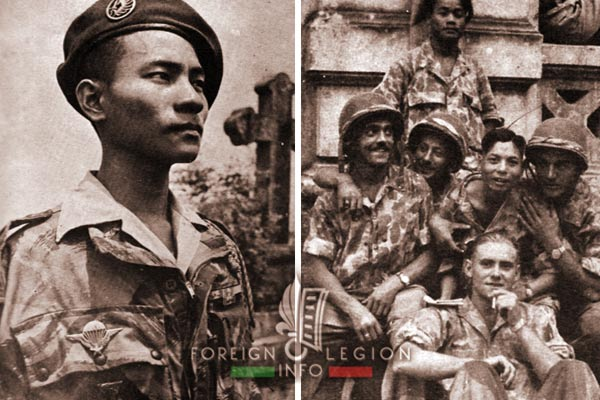 CIPLE - 2e BEP - 2 BEP - Foreign Legion Etrangere - Laos - Indochina - 1953