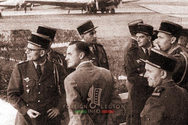 Albert Merglen - 2e BEP - 2 BEP - Foreign Legion Etrangere - Bach Mai - Hanoi - Indochina - 1953