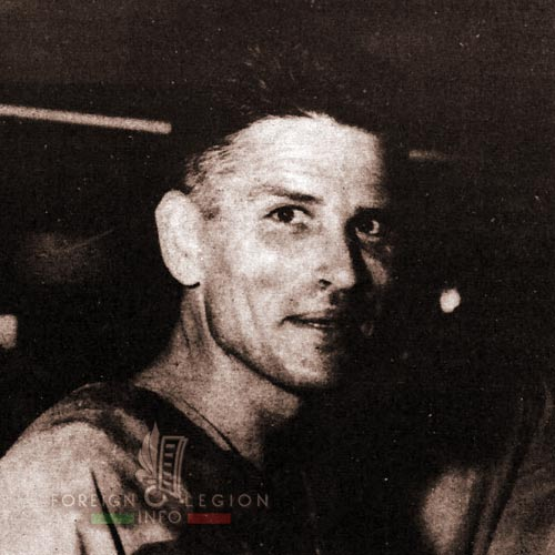 Hubert Liesenfelt - 2e BEP - 2 BEP - Foreign Legion Etrangere - Indochina - 1954