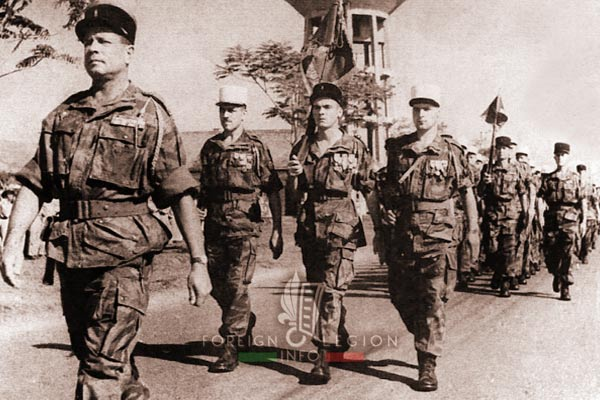 Camp Raffalli - 2e BEP - 2 BEP - Foreign Legion Etrangere - Saigon - 1954