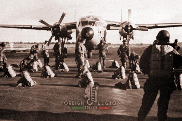 Saigon Airfield - 2e BEP - 2 BEP - Foreign Legion Etrangere - Vietnam - 1955