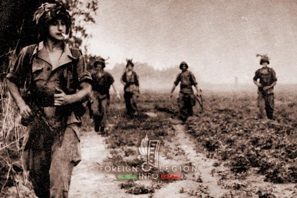 Exercise Clotaire - 2e BEP - 2 BEP - Foreign Legion Etrangere - Vietnam - 1955