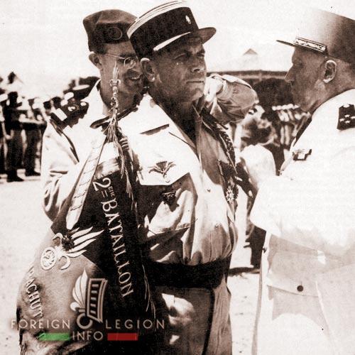 Georges Masselot - 2e BEP - 2 BEP - Foreign Legion Etrangere - Indochina - 1955