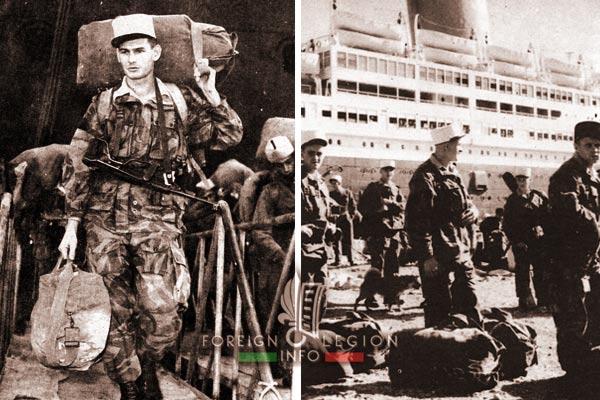 Mers El Kebir - 2e BEP - 2 BEP - Foreign Legion Etrangere - Algeria - 1955