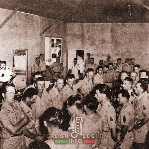 Officers & NCOs - 2e BEP - 2 BEP - 1er BEP - 1 BEP - Foreign Legion Etrangere - Indochina - Saigon - 1955