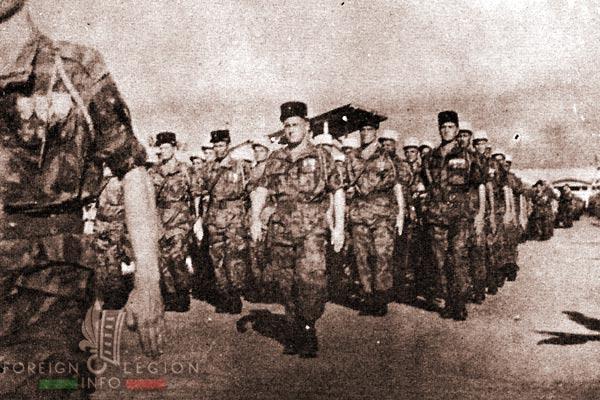 Camp Raffalli - 2e BEP - 2 BEP - Foreign Legion Etrangere - Saigon - 1955