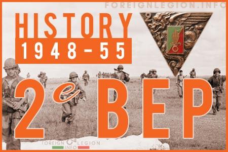 2e Bataillon Etranger de Parachutistes - 2 BEP - 2nd Foreign Parachute Battalion's History