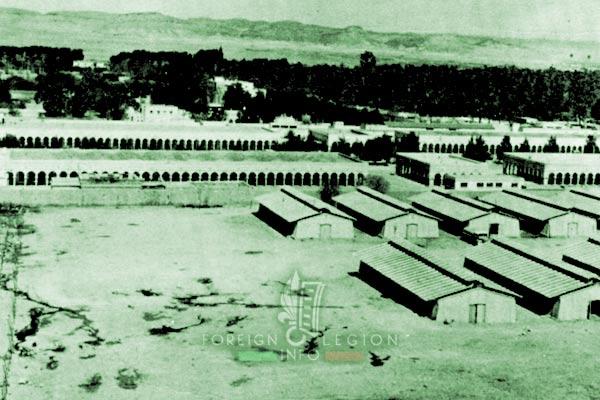 2e CSPL - 2 CSPL - Quartier Marquerite - Laghouat - Algeria - Foreign Legion Etrangere - 1950s