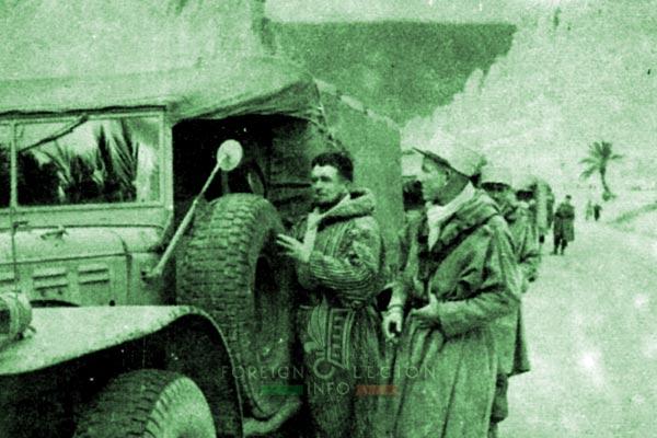 2e CSPL - 2 CSPL - Biskra region - Algeria - Djellaba - Foreign Legion Etrangere - 1954