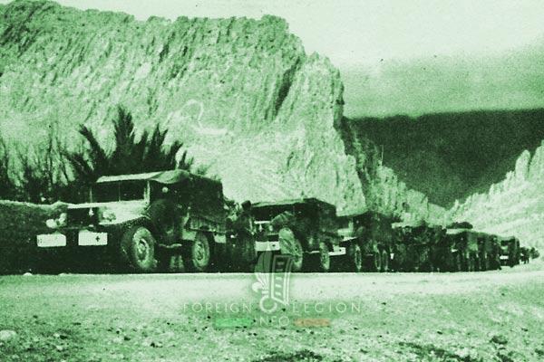 2e CSPL - 2 CSPL - Biskra region - Algeria - Foreign Legion Etrangere - 1954