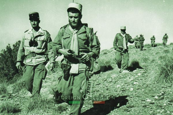 2e CSPL - 2 CSPL - Captain Plantevin - Operation - Algeria - Foreign Legion Etrangere - 1956