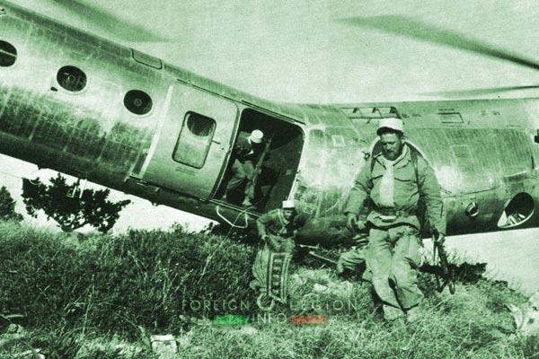 2e CSPL - 2 CSPL - Piasecki H-21 - Banana - Operation - Algeria - Foreign Legion Etrangere - 1957