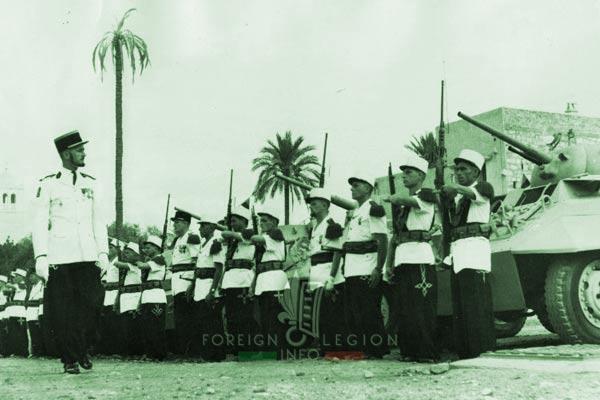 2e CSPL - 2 CSPL - Captain Plantevin - Laghouat - Foreign Legion Etrangere - 1958