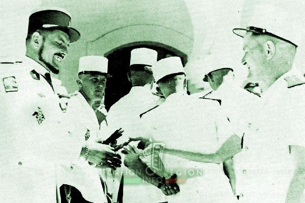 2e CSPL - 2 CSPL - Captain Lardry - Laghouat - Foreign Legion Etrangere - 1958