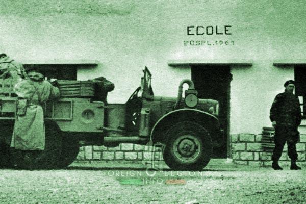 2e CSPL - 2 CSPL - El Haouita - Dodge - Algeria - Foreign Legion Etrangere - 1961